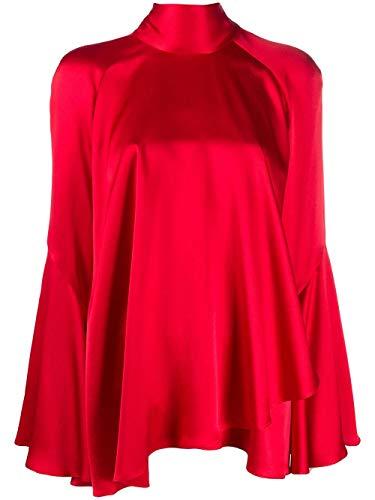 Luxury Fashion   Alberta Ferretti Dames A020342170115 Rood Zijde Blouses   Lente-zomer 20