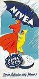 Nivea Creme-Pub-Kunstdruck-Poster, Format 50 x 70 cm,