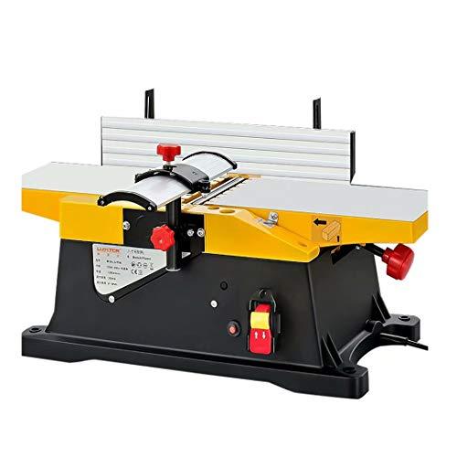 Pialla da banco 6 pollici 1800W 12000R / min Pialla elettrica da tavolo per la lavorazione...