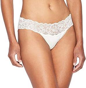 Tommy Hilfiger Braguita de Bikini, Marfil (Ivory 101), 36 (Talla del Fabricante: Small) para Mujer