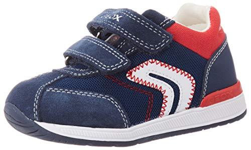 Geox Jungen B RISHON Boy B Sneaker, Blau Navy, 23 EU