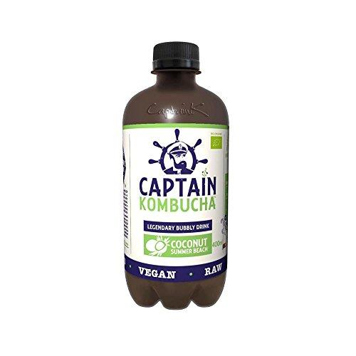 Captain Kombucha - Coconut Summer Beach - 400 mililitres
