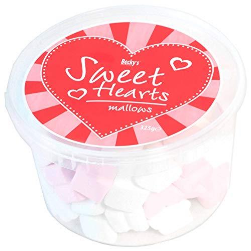 Becky´s Marshmallows/Schaumzucker Herzen - Sweet Hearts Mallows - pink & weiß - 325 g