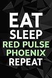 Red Pulse Phoenix Crypto, Eat Sleep Red Pulse Phoenix Repeat Good Password kog book: Alphabetized Internet Password Keeper and Organizer Journal ... address and password logbook,Password Book