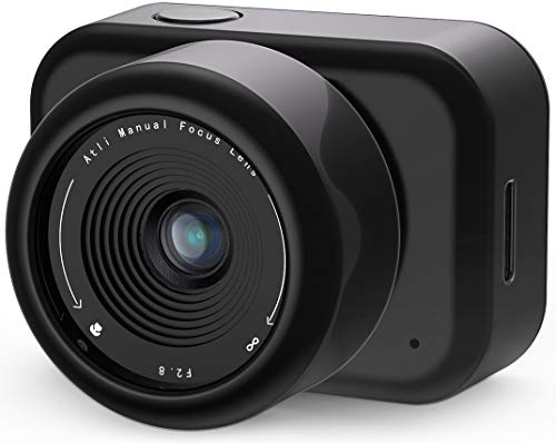 ATLI EON Time Lapse Camera for Photography, Digital Video Full HD 1080P, Mini Camcorder, HDR, Infrared Mode, for YouTube Vlogging/Construction/Nature/Flower Records, APP Control, Web Access
