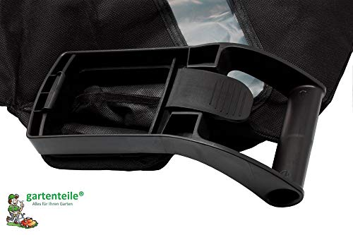 Bladblazer/bladzuiger, opvangzak met ritssluiting, inhoud 50 liter, niveau-indicator, geschikt voor bladzuiger/bladblazer met hoekige aansluiting.