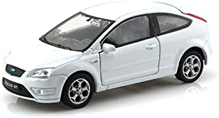 BRAND NEW DIECAST MODEL CAR 1:32 DISPLAY FORD FOCUS ST DIECAST CAR 1 PIECE WHITE NO RETAIL BOX 42378D-WH BY WELLY TOYS