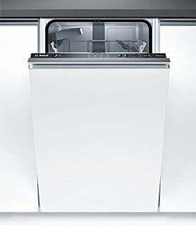 Bosch Serie 2 SPV24CX00E lavavajilla Totalmente integrado 9 cubiertos A+ - Lavavajillas (Totalmente integrado, Estrecho (45 cm), Negro, Botones, LED, 1,75 m)