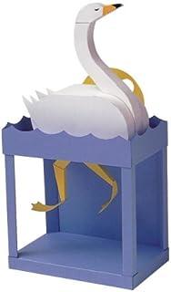 からくりペーパークラフト 素顔の白鳥