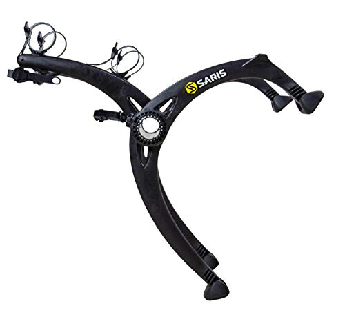 Saris Bones EX Trunk Bike Rack Carrier, Mount 2 Bikes, Black