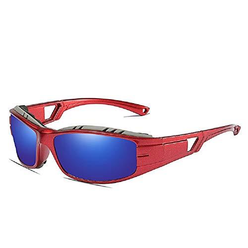 U/A Klassische polarisierte Fahrradbrille Outdoor-Sport-Fahrradspiegel mit staub- und winddichter Schutzbrille