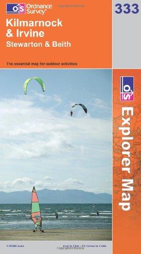 OS Explorer map 333 : Kilmarnock & Irvine