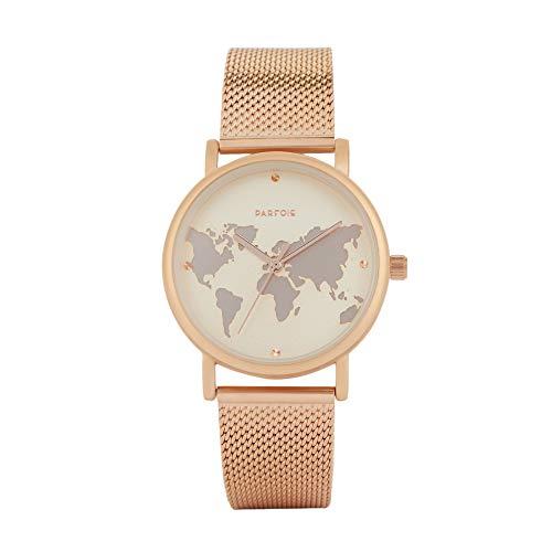 Parfois - Reloj Casual Rose Gold Tray - Mujeres - Tallas Única - Dorado 2