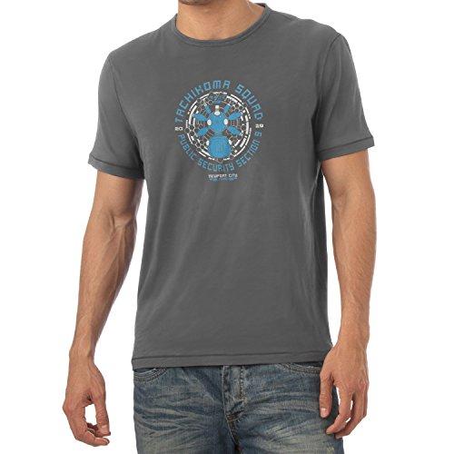 Texlab Herren Tachikoma Squad T-Shirt, Grau, XXL