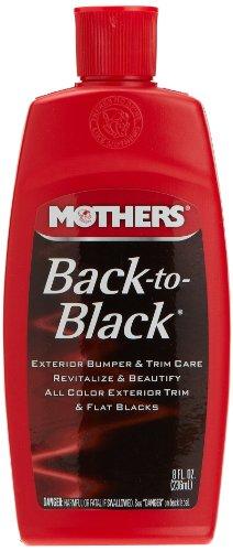 Mothers 06108 Back-to-Black Trim Care - 8 oz