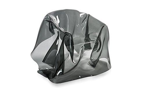 Iplex Design Drappegges d'Autore stoel, plexiglas, PMMA, rook/transparant