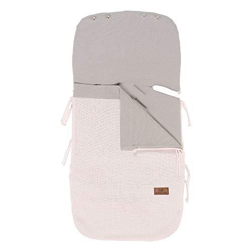 BO Baby's Only - 86x38 cm - 0+ Fußsach Sommer Autositz aus Baumwolle - für 5- und 3-Punkt-Gurten - für Jungen und Mädchen - Rosa