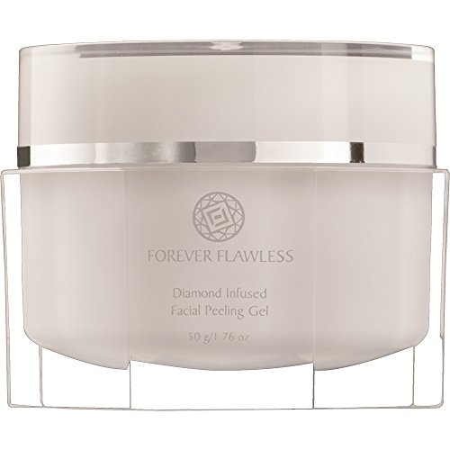 Forever Flawless Diamond Infused Facial Peeling Gel. New & Improved Formula for Best Exfoliation, Microdermabrasion, Purification & Detox for a Flawless, Glowing Skin.