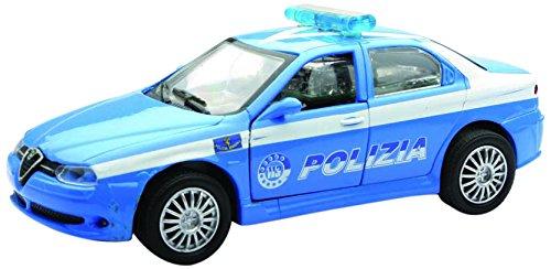 NewRay 50984 - Forze dell' Ordine Alfa Romeo 156 Polizia, Scala 1:32, Die Cast
