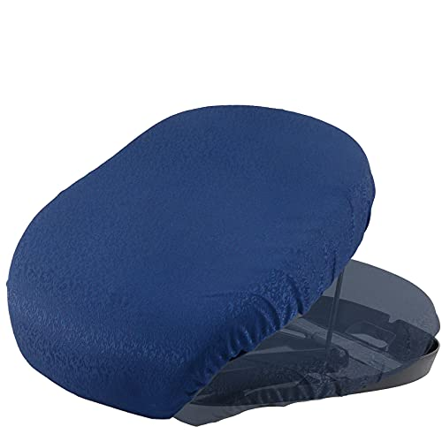 Botabay Seat Lift Cushion for Chair Seat Assist Lifting Cushion 5 Stage Adjustment Sofa Stand Assist Aid Up to 340Lbs Uplift Premium Seat Navy Blue W/Spare Cushion Cover