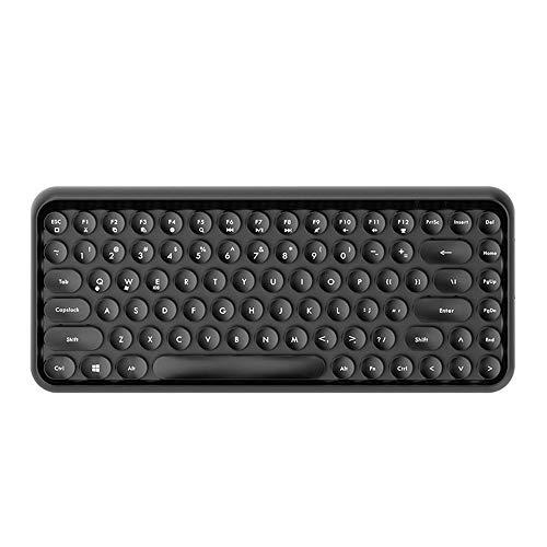 LINABIND tastiera Bluetooth telefono tablet desktop Notebook menage ufficio ragazzi e ragazze Goon tastiera gaming tastiera (colore: nero)