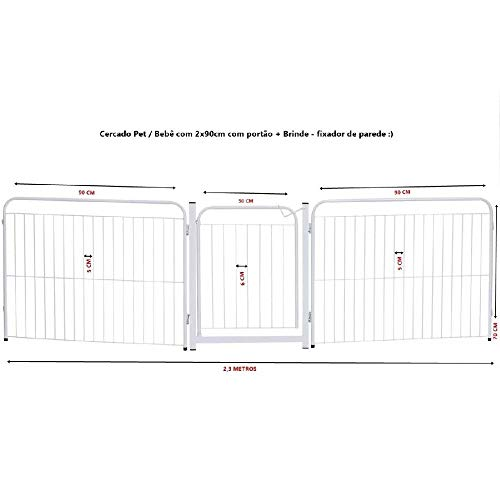 Fenced Kennel Dog Rabbits Dogs 1 / 90cm + Gate