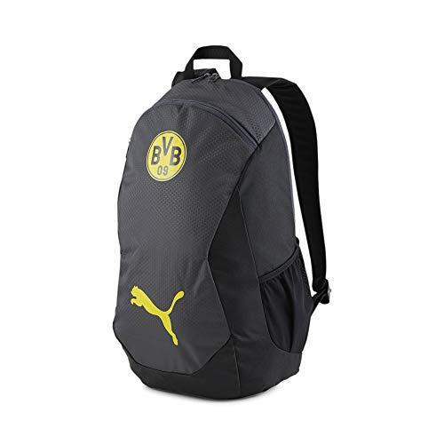 PUMA BVB FINAL Fußball Rucksack Asphalt-Cyber Yellow OSFA