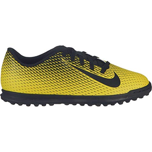 Nike JR Bravata II TF, Botas de fútbol Unisex Adulto, Multicolor (OPTI Yellow/Black/Black 701), 38.5 EU