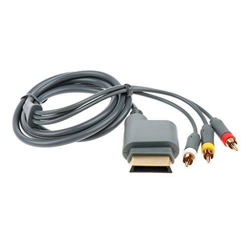 MERIGLARE Videojuego de Cable de Audio Y Video AV para Consolas Xbox...