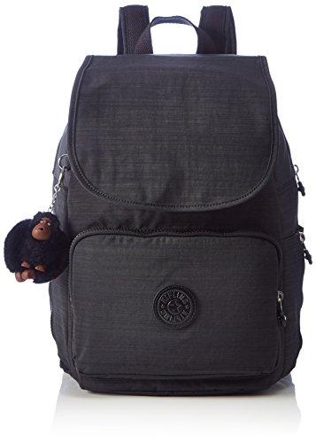 Kipling Cayenne, Damen Rucksack, Black (Dazz Black), 27x37x19.5 cm (W x H x L)