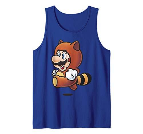 Nintendo Super Mario Tanooki Suit Jump Tank Top