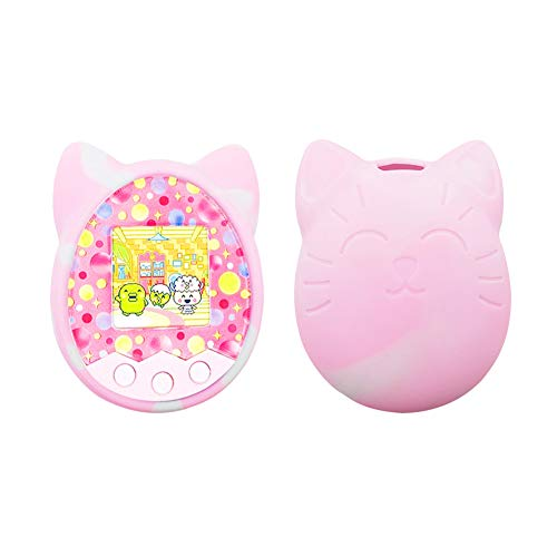 ZS ZHISHANG Custodia in Silicone per,Silicone Case Cover for Tamagotchi on Interactive Pet Game Machine for Tamagotchi On 4U+ PS m!x ID L
