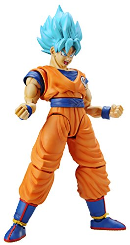 Bandai Hobby Figure-rise Standard Dragon Ball Super Saiyan God Son Goku Kit De Modelismo Maqueta - Necesario Su Montaje , color/modelo surtido