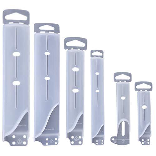 NICEXMAS 6Pcs Protectores de Filo de Cuchillo Cubiertas de para Cuchillos Mangas Fundas Protectoras de Cuchillas para Cuchillos Mantiene La Cuchilla Afilada