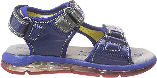 Geox Baby Jungen B TODO Boy A Sandalen, Mehrfarbig (BLUE/ROYALC0615), 23 EU
