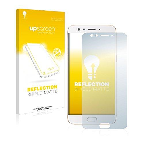 upscreen Entspiegelungs-Schutzfolie kompatibel mit Oppo F3 Plus – Anti-Reflex Bildschirmschutz-Folie Matt