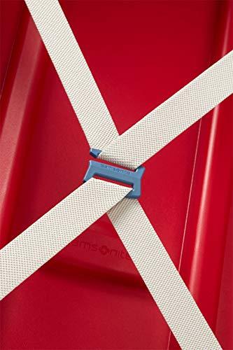 Samsonite S'Cure - Valigia.138 Litri, XL (81 cm - 138 Litri), Rosso (Crimson Red)