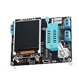 Generador de señales transistor Tester de componentes ESR transistor GM328 probador con Digital Pantalla LCD LCR probador