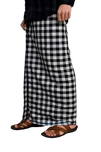 Riyashree men's cotton lungi for men free size 2 meter MenLungi 001