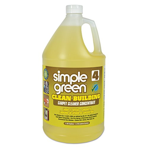 Simple Green 11201 Clean Building Carpet Cleaner Concentrate, Unscented, 1gal Bottle (Case of 2)