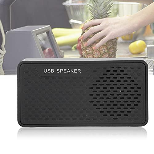 WNSC Altavoz de Escritorio USB, Altavoz de computadora portátil USB para Computadora de Escritorio y laptops