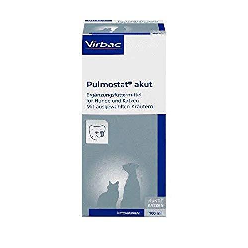 Virbac - Pulmostat akut Hustensaft für Hunde und Katzen, 1er Pack (1 x 0.22 kilograms)