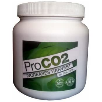 Mini ProCO2 Bucket for 2' x 2' Area - Natural Releasing Carbon Dioxide CO2 Booster for Plants
