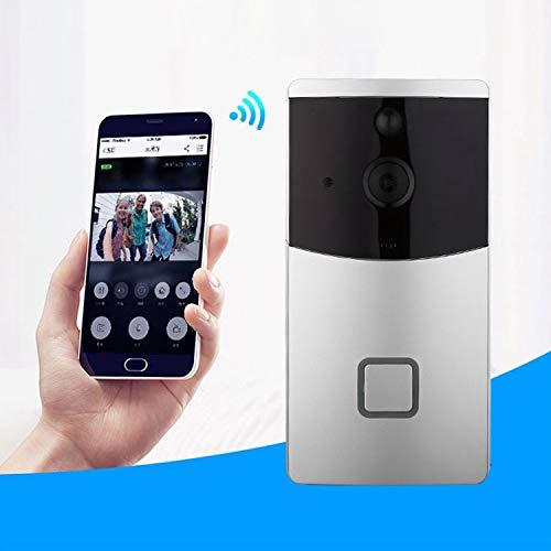 Fácil instalación Cámara de seguridad VESAFE for el hogar VS-M2 HD 720P Videoportero inteligente con WiFi WiFi, Soporte for tarjeta TF y visión nocturna, y APLICACIÓN de detección PIR for IOS y Androi