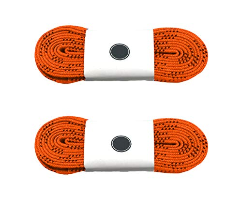 Boots Silfrae Waxed Skate Hockey Laces Skate Laces Sold in Two Pairs Heavy Duty Perfect for Hockey and Skates Multi-Size and Multi-Color Available.