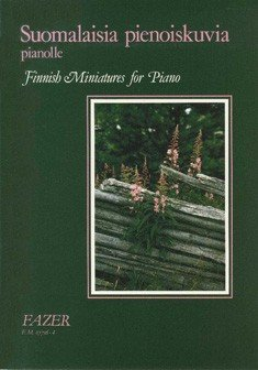 Piano or Keyboard-Finnish Miniatures-BOOK