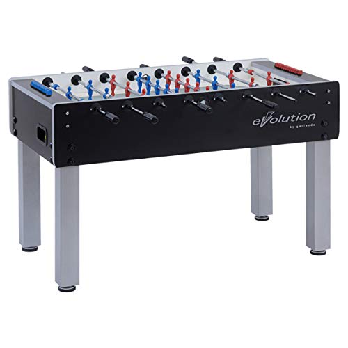 Garlando G-500 Indoor Foosball Table Telescoping Steel Rods Steel Ball Bearings. Includes 10 Standard Balls.