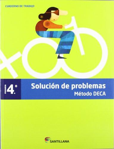 CUADERNO PROBLEMAS METODO DECA 4 PRIMARIA - 9788468010427