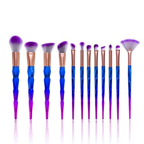 LNLW Makeup borstelsets - 12 stuks make-up Borstels Foundation oogschaduw wenkbrauw eyeliner blozen poeder Concealer Contour