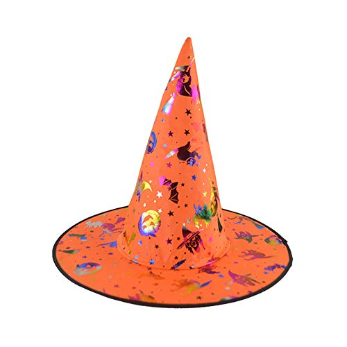KPPONG 2019 1Pc Erwachsene Frauen Kürbis Hexe Hut Für Halloween Kostüm Must-Have Zubehör